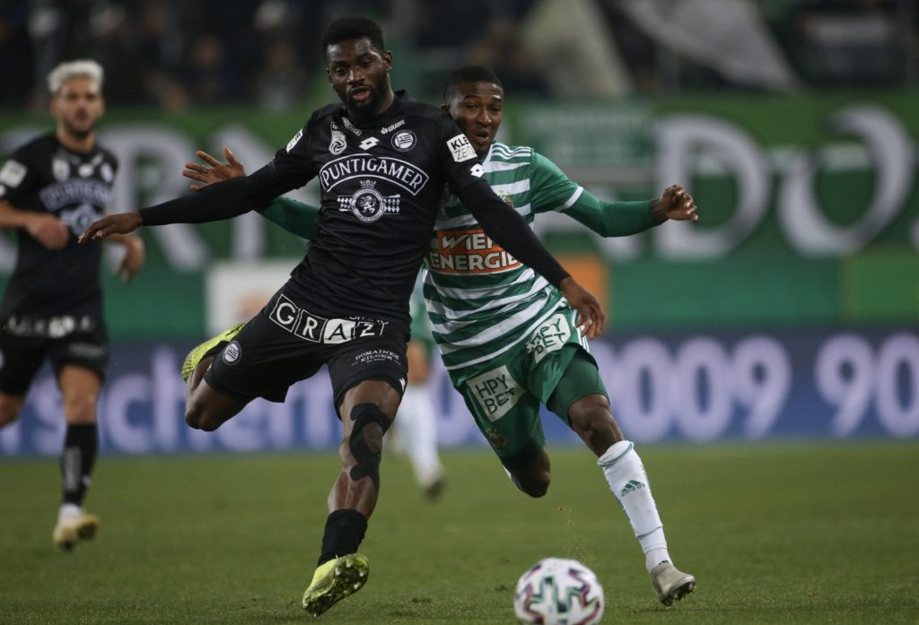 Sturm Graz defender Isaac Donkor to mark injury in youth team's friendly against Weinland