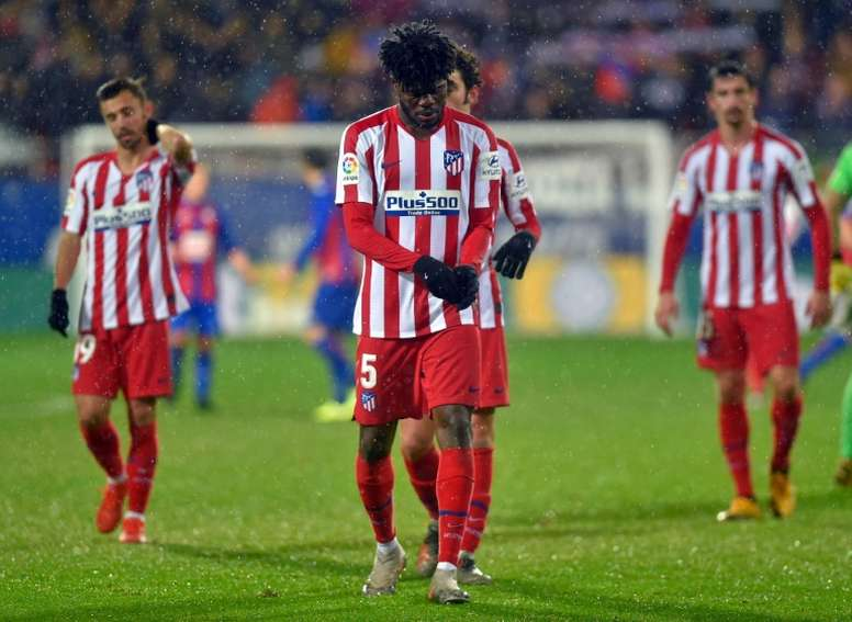 Thomas Partey reaches same caps as manager Diego Simeone at Atletico Madrid