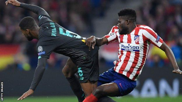Thomas Partey reveals he would like to retire at Atletico Madrid