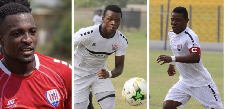 Inter Allies confirm trio Effiong, Hamzah and Kyeremateng heading to Danish side HB Koge