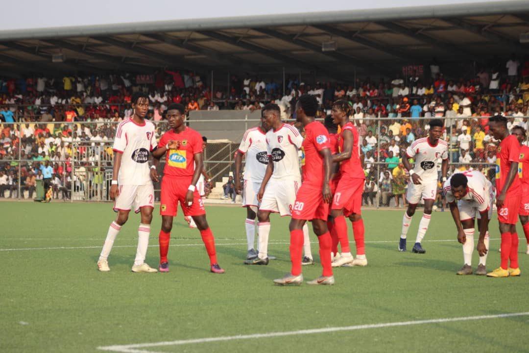 VIDEO: Watch highlights of WAFA v Asante Kotoko draw