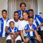 Ghana star Mubarak Wakaso shows off stunning photo of his family