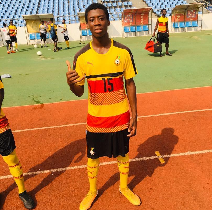 Swedru Professionals FC kid Nurudeen Mohammed lands in Ghana U17 camp to perfume artistry