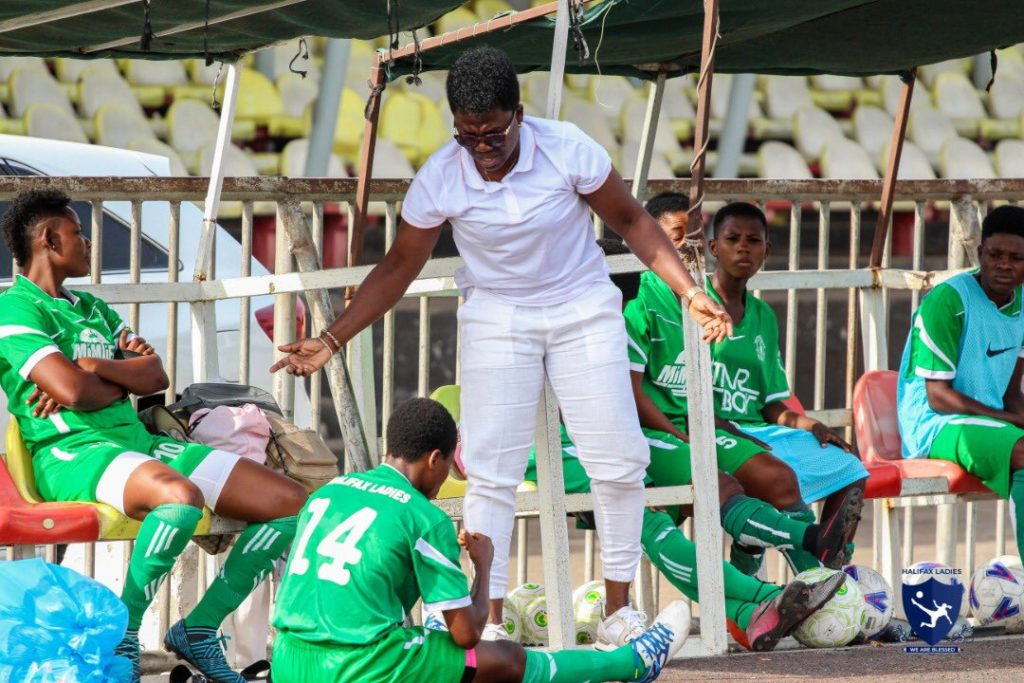 Mercy Tagoe steps down as Halifax Ladies coach
