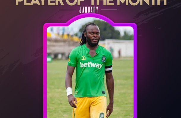 Player of the Month: Aduana Stars talisman Yahaya Mohammed wins January gong