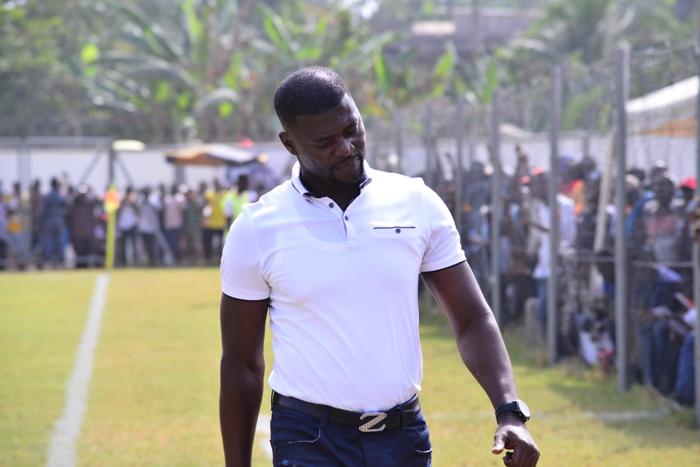 Fit-again Medeama coach Samuel Boadu returns to dugout against Aduana Stars