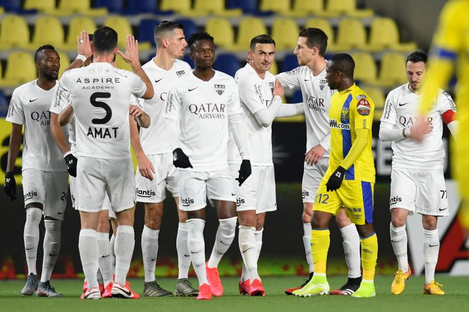 Emmanuel Adjei Sowah crushed by Samuel Asamoah's hat-trick for Sint Truiden on debut for KAS Eupen