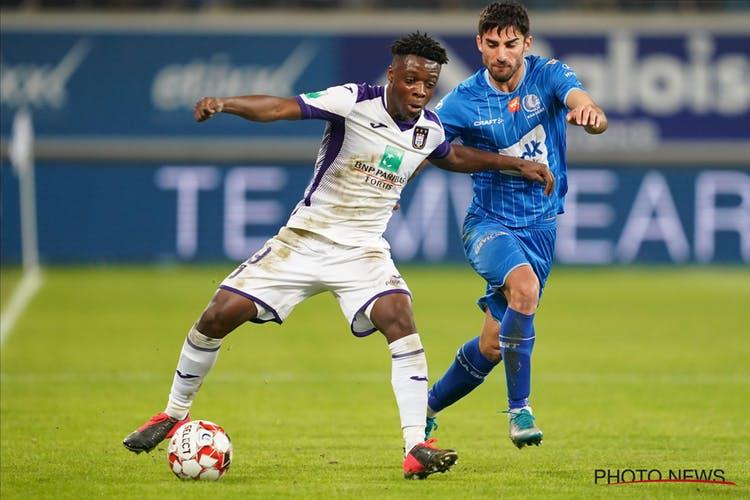 KAA Gent defender Alessio Castro-Montes waxes lyrical on Anderlecht star Jérémy Doku