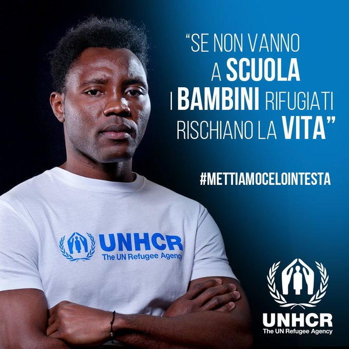 Kwadwo Asamoah appointed as UN ambassador to fight discrimination against refugees in Italy