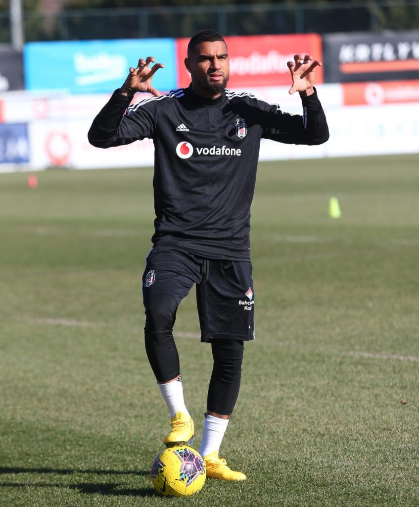 Kevin-Prince Boateng pushing for starting berth at Turkish side Besiktas