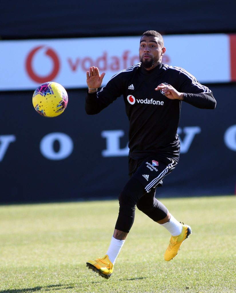 VIDEO: Ghana forward Kevin-Prince Boateng scores incredible goal in Besiktas training