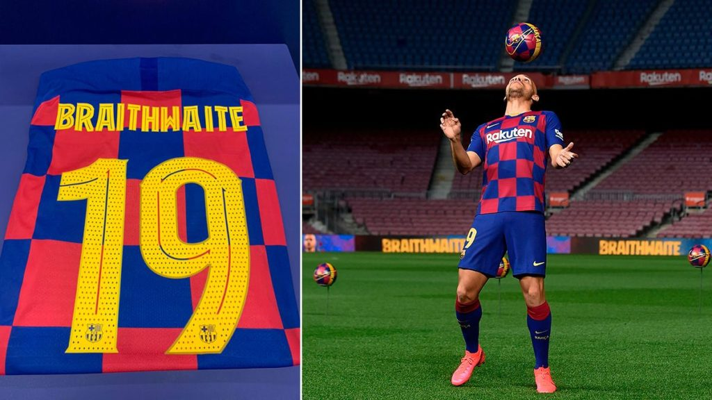 New Barcelona signing chooses to wear Kevin-Prince Boateng's number 19 jersey