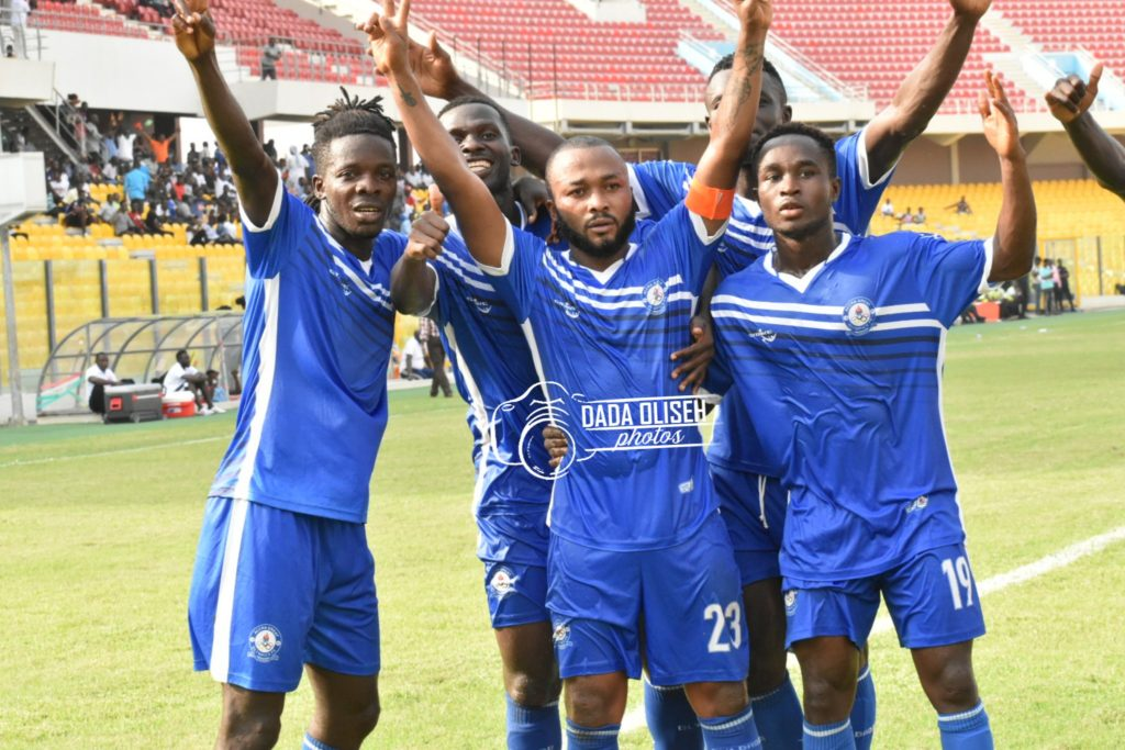 2019/20 Ghana Premier League: Matchday 8 full-time results