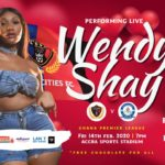Wendy Shay to rock Accra Sports Stadium in Legon Cities clash with Great Olympics