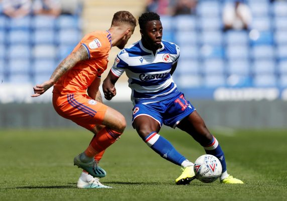 Ghana defender Andy Yiadom rated as second best dribbler at English side Reading