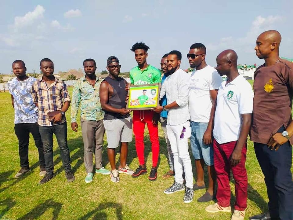 Caleb Amankwah named Aduana Stars player for the month of February