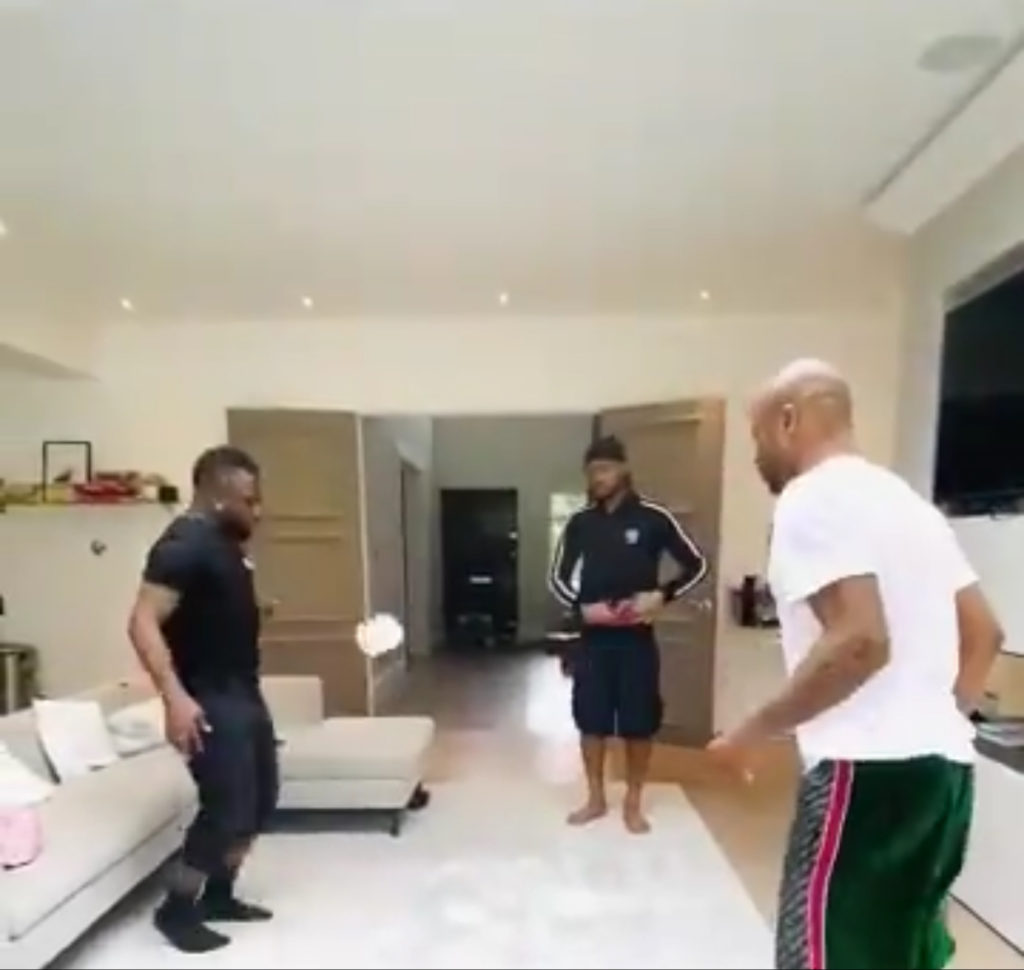 VIDEO: Ayew brothers deliver devastating 'stay at home challenge'