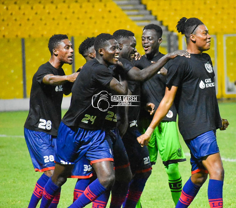 PHOTOS: Legon Cities record first big win against WAFA in 2019/20 GPL