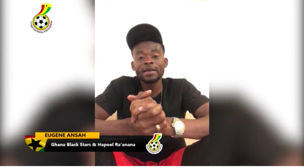 VIDEO: Black Stars newbie Eugene Ansah sends solidarity message to Ghanaians amid COVID-19 scare