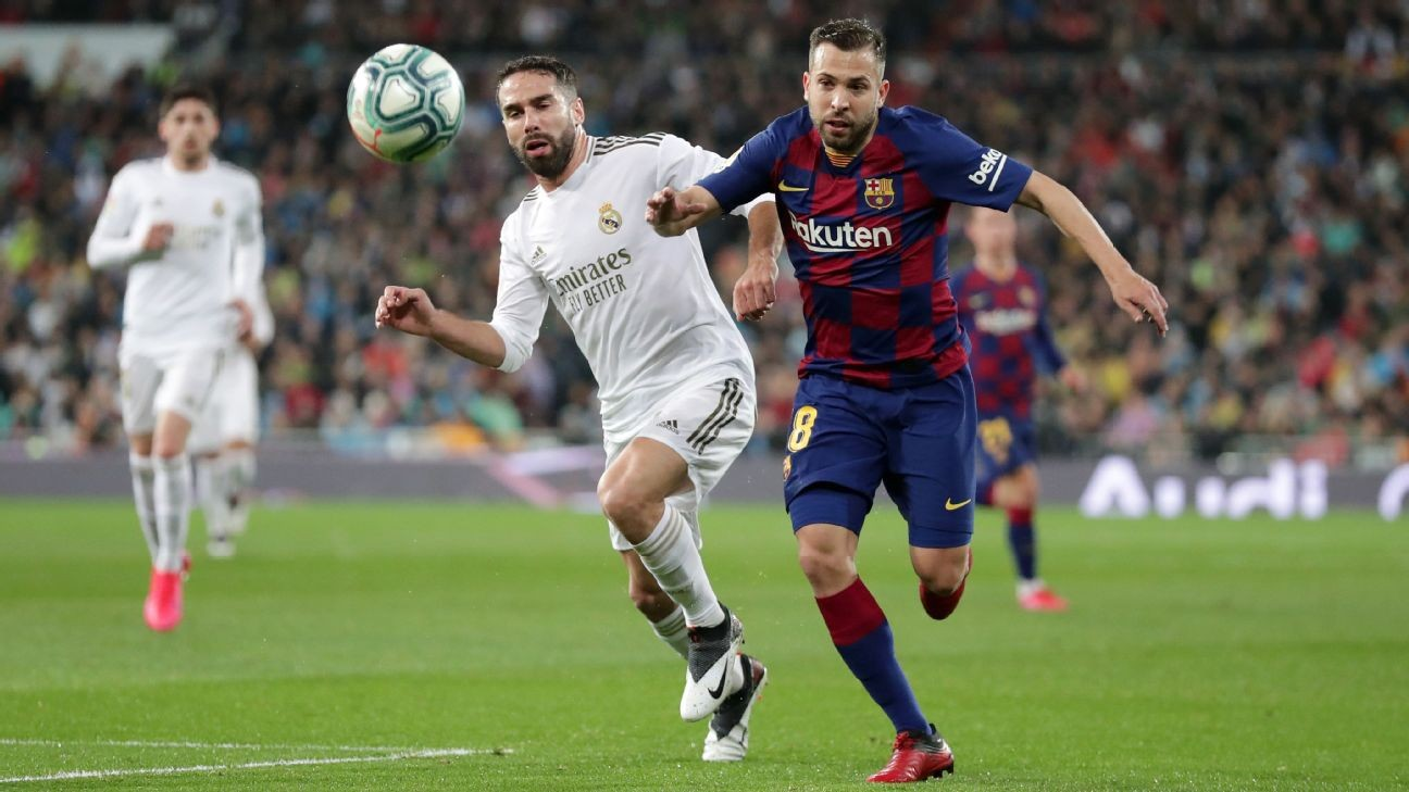 Gerard Pique: Real Madrid one of the worst I've faced at the Bernabeu