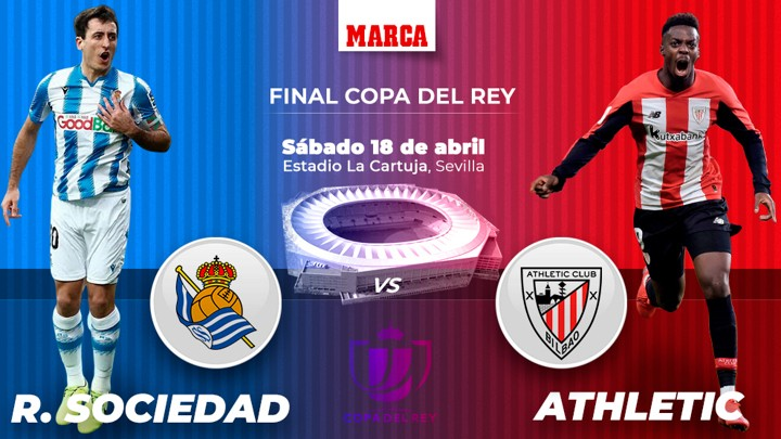 Sociedad and Athletic to contest Copa del Rey final for the 1st time in history