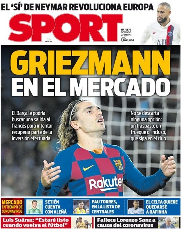 Image result for Griezmann could be sold