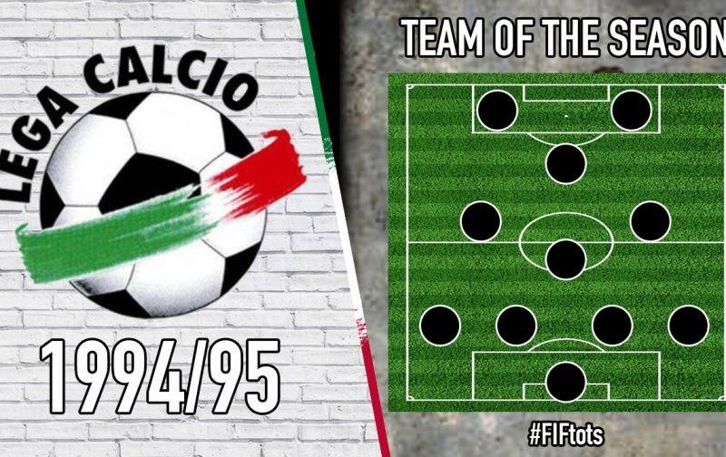 Serie A Team of the Season | 1994/95