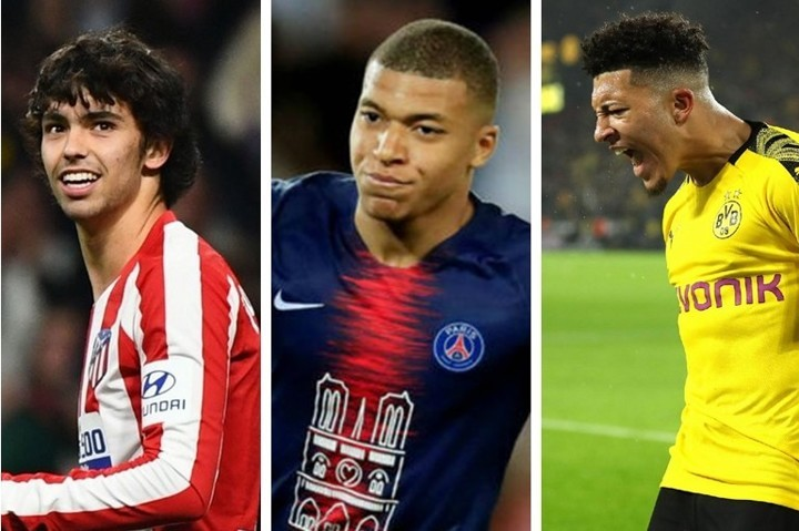 Sancho, Felix & Mbappe... 20 wonderkids primed to be best of next decade