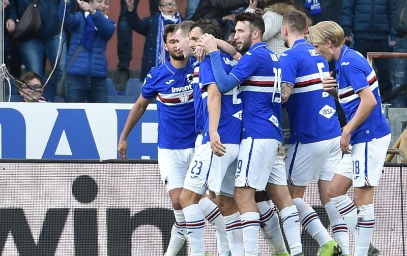 Sampdoria's self-isolation period ends