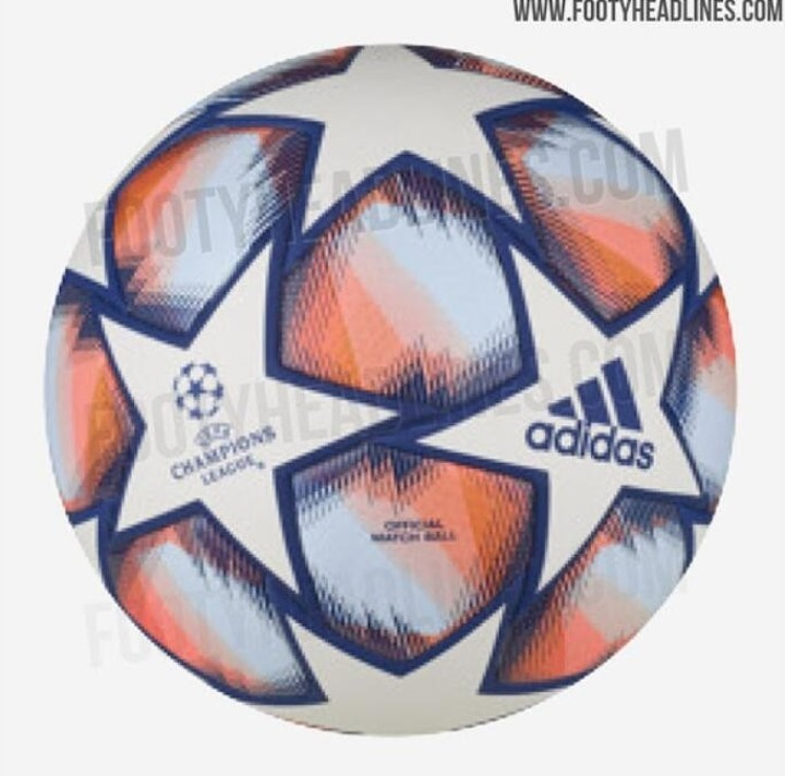 Next season's UCL ball for group stage leaked with coral highlights the design