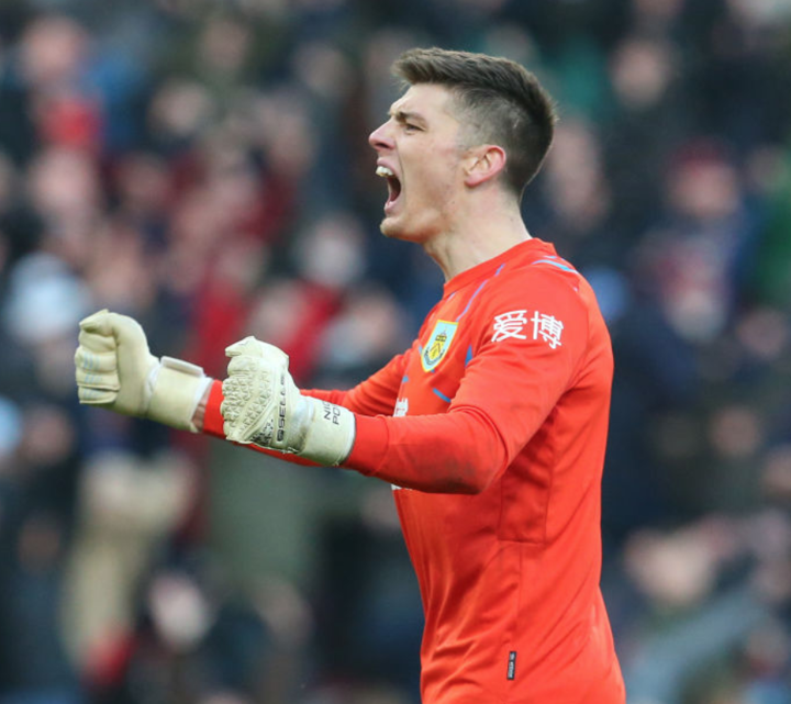 Burnley keeper Pope 'could be an option for Tottenham this summer'