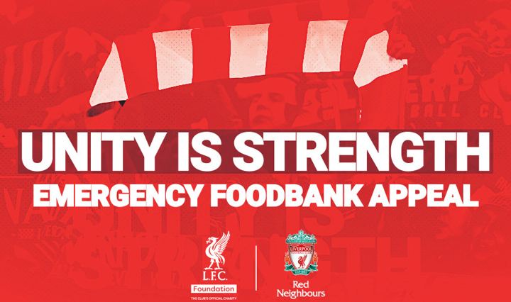 Liverpool launch emergency foodbank appeal to support vulnerable people