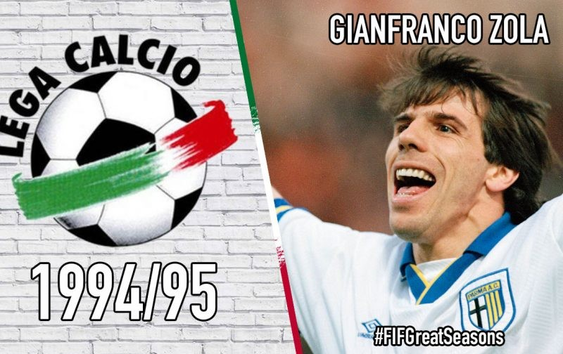 Great Seasons: Gianfranco Zola – 1994/95
