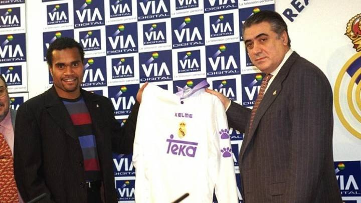 Karembeu on how the late Madrid President Sanz signed him: I thought it was joke