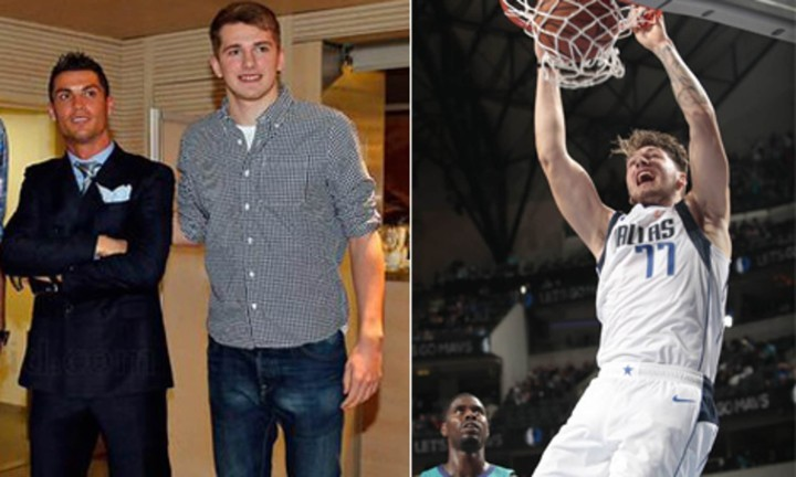 NBA star Doncic reveals he left speechless when he got to meet Ronaldo at Madrid