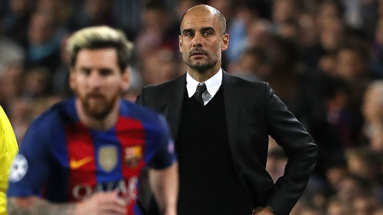 Lionel Messi and Pep Guardiola donate ¬1m each to coronavirus fight in Spain
