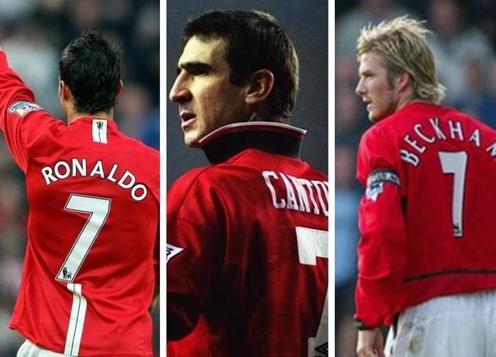 Who is Man Utd's best No.7 in history, Beckham, Ronaldo or Cantona?