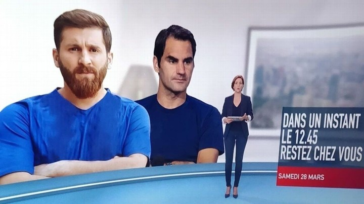 French TV channel uses Messi's lookalike's photo when reporting Messi's donation