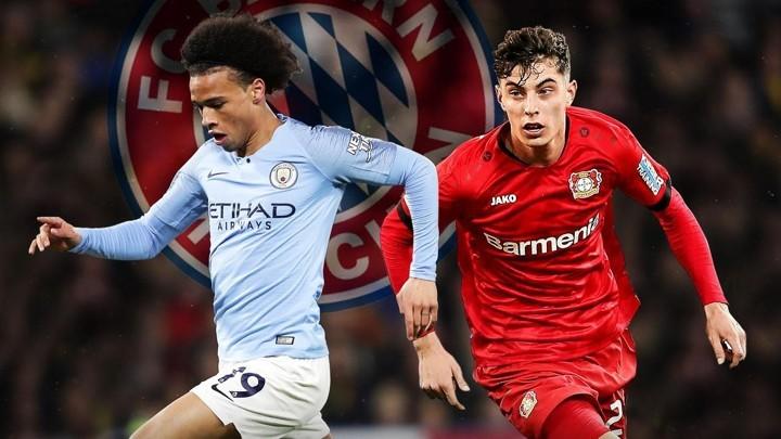 Bayern continue transfer plan for Sane but Flick prefers to sign Havertz (Bild)