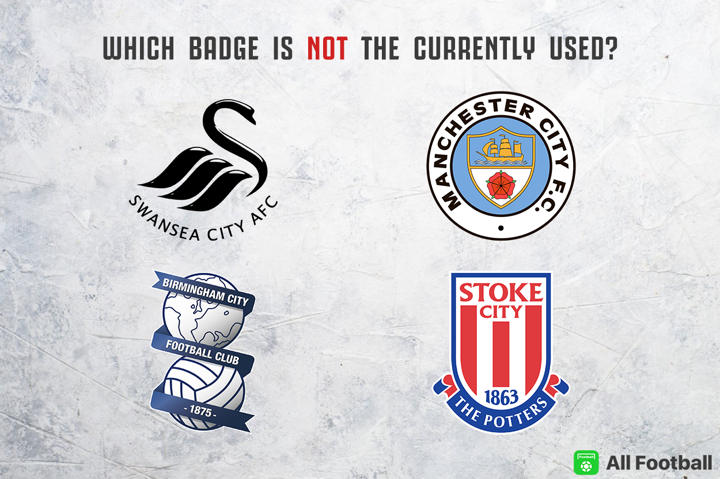 Easy quiz: Which one is NOT the current badge of the club?