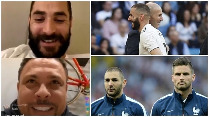 Benzema: Compare me with Giroud? Don't confuse F1 with karting