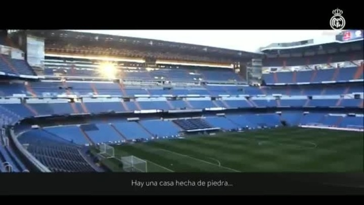 Real Madrid dream of bringing football back to the Bernabeu