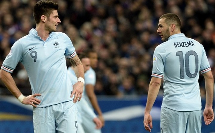 'You don't compare Formula 1 with karting' - Benzema on Giroud