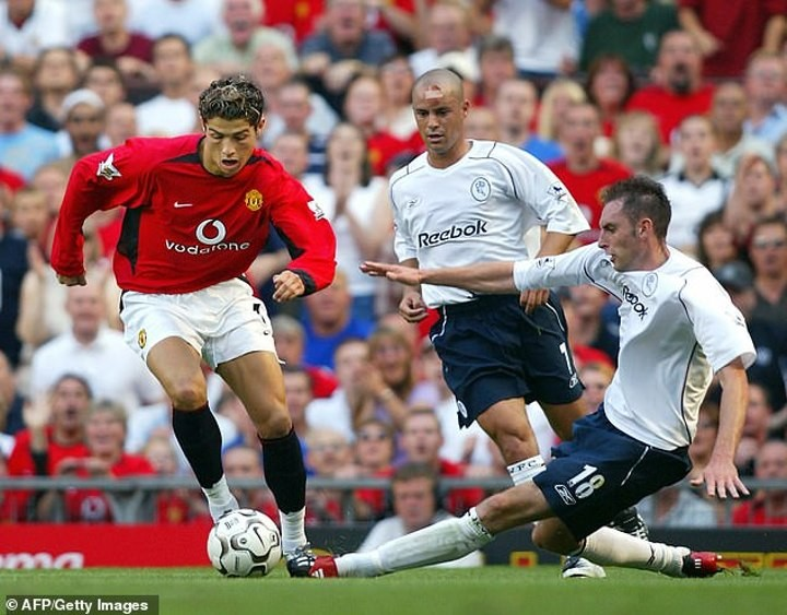 Ronaldo picked Utd in 2003 because 'every other club wanted to loan him back'