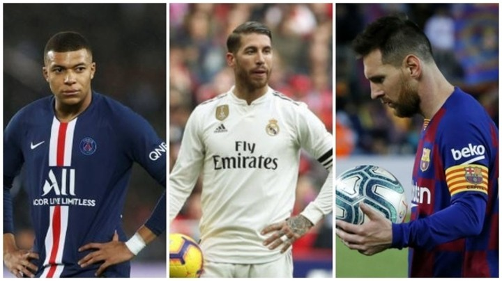 Messi, Ramos, Mbappe... contract renewals that could be affected by Coronavirus