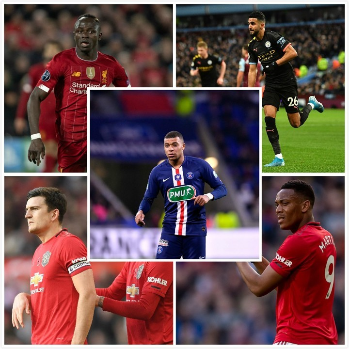 Messi, Mbappe, Mane, Martial, Maguire, Mahrez...which 'M' player is the best?