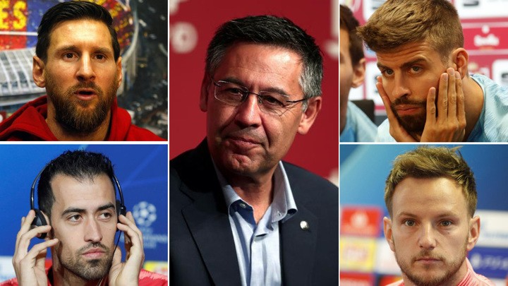 The Barcelona players' umpteenth criticism of the board
