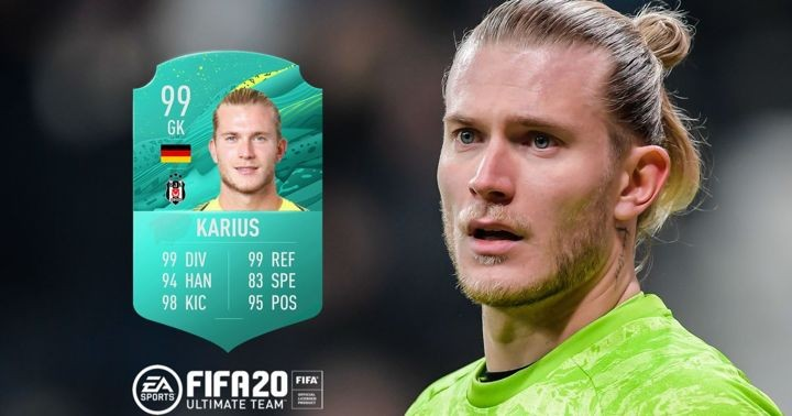 Loris Karius' FIFA 20 Ultimate Team revealed as Liverpool loanee loses out