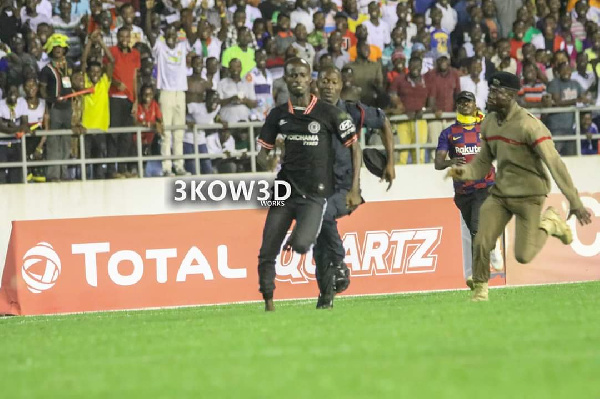 We are wasting $10,000 on one person – GFA General Secretary on CAF fine over Cape Coast pitch invader