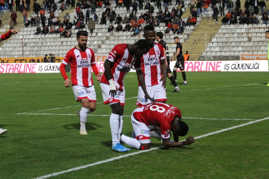 VIDEO: 'Inconsolable' Mahatma Otoo scores as Balikesirspor hold Adanaspor in Turkey